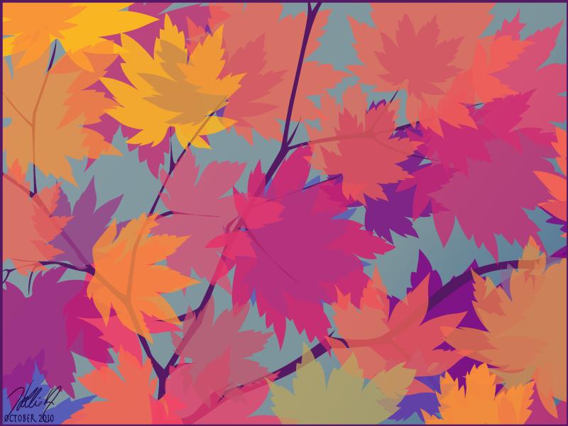 Seasons greetings tiny plastic houses seasons greetings fall leaves m4hsunfo