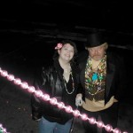 Hollie & Finn at SJMO Mardi Gras a millennia ago